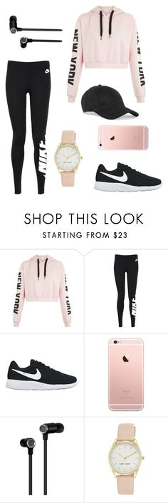 """School Outfits"" by maia-the-papaya ❤ liked on Polyvore featuring NIKE, Master & Dynamic, Nine West and rag & bone"