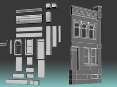 Hey Guys, I was wondering are buildings in games always low poly? What I mean by that is, they dont make highpolys and bake it down, do they? eg.