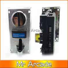 5 different coins of Multi coin selector acceptor support multi signal output 1 signal Jamma mean arcade game machine part #Affiliate