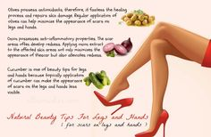 Beauty Tips For Scars on Legs and Hands