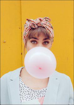 Bandana ROSY - Indira de Paris - Turbans faciles & Headbands Mode Turban, Wallpaper Iphone Disney, Turbans, Cute Girls, Headbands, Hat, Hair Styles, Casual, Collection