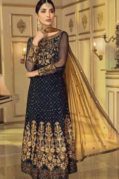 Master Replica Dresses | Master Replica Pakistan Latest Pakistani Dresses, Latest Pakistani Fashion, Pakistani Designer Suits, Pakistani Dress Design, Frock For Women, Pakistani Street Style, Chiffon, Pakistani Salwar Kameez, 3 Piece Suits
