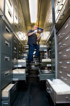 Smithsonian archives and a new blog post about archival careers #archives #archivists