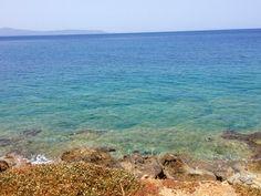 Sea view in Crete, Greece