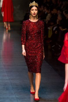 Dolce and Gabbana AW13 #NowTrending #CocktailHour