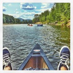 Go canoeing (or tubing) down the Saco River. | 38 Awesome Things To Do In Maine