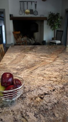 River Bordeaux granite kitchen countertops