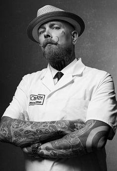 Schorem barber Bertus, the 'bloody butcher'. 'Schorem' literally means scum, or scumbag in English. Haha.
