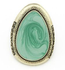 Shop Women's Green size OS Rings at a discounted price at Poshmark. Jewelry Supplies, Jewelry Stores, Korean Accessories, Jade Ring, Egg Shape, Green Eggs, Affordable Jewelry, Wholesale Jewelry, Gemstone Rings