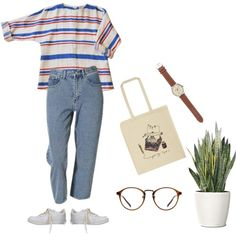 A fashion look from May 2014 featuring NIKE sneakers, Ulster Weavers tote bags and J.Crew watches. Browse and shop related looks.