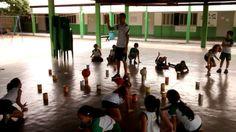 Minha manhã de hoje foi finalizada no colégio Coopex em Piranhas Alagoas. ⚽✅ Atividade lúdica para trabalhar a orientação espaço temporal e  tomada de decisão dos alunos.... Galerinha do fundamental l ✅  #educacaofisica #atividadefisica #atividadeludica #estagio