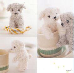 Needle Felt DIY Wool Felt Craft Japanese Book MY Mini DOG FOR Beginner | eBay