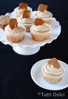 Cookie Butter Cupcakes  @Laura | Tutti Dolci