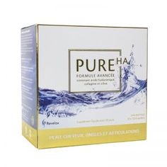 PURE HA x 5 ml sachet) A synergy unlike any other! PureHA with Collagen is a liquid formula containing hydrolysed fish collagen and hyaluronic acid. A winning combination with multiple benefits for your body! Tendon, Cartilage, Hyaluronic Acid, Collagen, Moisturizer, Pure Products, Destruction, Fish, Health