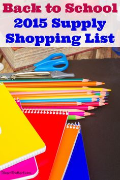 Save on BTS shopping with this supply shopping list for school supplies at the best prices!
