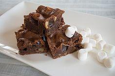 Marshmallow - Nougat - Brownies, ein schmackhaftes Rezept aus der Kategorie Kuchen. Bewertungen: 16. Durchschnitt: Ø 3,8.