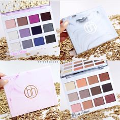 ⚡️SNEAK PEEK⚡️ of the upcoming Marble Collection by BH Cosmetics! 2 Eye shadow palettes •Cool Stone (in the pink marble) and •Warm Stone (in the grey marble) Vegan Paraben free $12 Each Available in October!