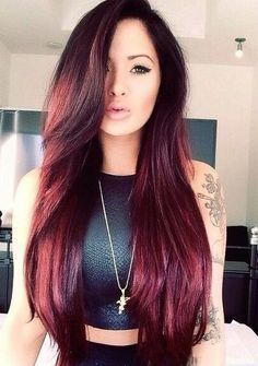 Purple hair color for asian hair