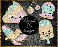 Kawaii Clip Art Etsy Store, Vibrant Colors, Clip Art, Kawaii, Awesome, Image, Vivid Colors, Pictures