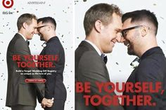 In 2012, Target released its first gay wedding registry ad.