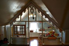 Attic Playroom Apartment Therapy