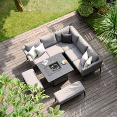 The Maze Lounge Pulse Square Corner Dining Set is a new edition to our outdoor fabric collection. The Pulse Square Corner Dining Set Fire pit also comes with a Free of Ch Outdoor Cushions, Outdoor Fabric, Outdoor Sofa, Outdoor Spaces, Outdoor Decor, Outdoor Kitchens, Outdoor Ideas, Garden Dining Set, Outdoor Dining Set