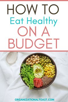 Eating clean does not have to be hard or expensive! Check out these tips to eat clean on a budget and learn how you can eat clean for less! Family Meal Planning, Planning Budget, Family Meals, Eating Healthy, Healthy Foods, Clean Eating, Healthy Recipes, Frugal Meals, Budget Meals