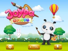 Gameplay - Joypa Colors - Interactive Coloring Game - App Store (IOS), Google Play (Android) #kids #games #IOS #appskids #android #colors #coloring #interactive #fun #gameplay #android