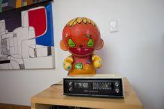 KidRobot's Munny, pintado pelo Toz e BrunoBR do FleshBeck