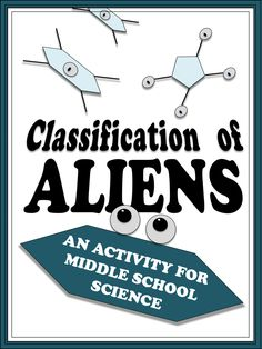 Best-selling activity to introduce middle school students to the process of scientific classification. Never works the same exact way twice because students make REAL decisions about which characteristics matter in classification. $