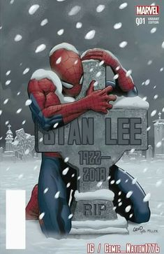 Legendary Marvel Comics co-creator Stan Lee — famous for giving the world beloved superheroes including Spider-Man, Iron Man and the Incredible Hulk — died Monday. He was According to TMZ, Lee suffered a number of illnesses over the last year Marvel Avengers, Marvel Comics, Bd Comics, Marvel Memes, Stan Lee Died, Marvel Wallpaper, Image Manga, Iconic Characters, Marvel Cinematic Universe