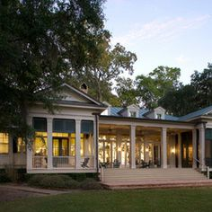 Classic Revival   traditional   porch   Our Town Plans   southern    Classic Revival   traditional   exterior   Our Town Plans