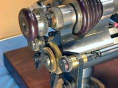 Change gearing to jewelers lathe can produce very fine feeds and thread cutting