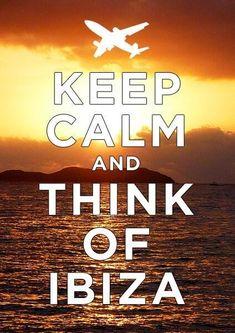 Thinking of Ibiza. going to Ibiza! Beautiful Islands, Beautiful World, Places To Travel, Places To Go, Ibiza Holidays, Ibiza Island, Ibiza Formentera, Magic Island, Keep Calm