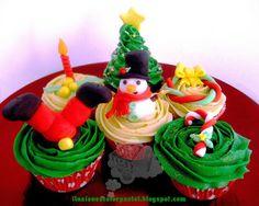 "Cookies And Cakes ""Regalitos comestibles"": Cupcakes Navideños"