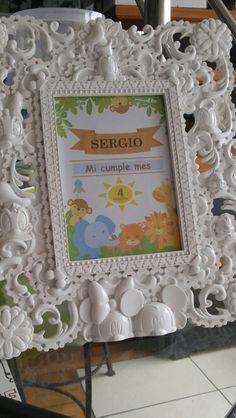 Baby safary porta retrato .... Sergio