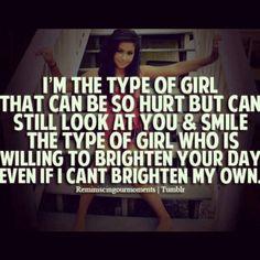 Thats who i am~