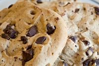 Sourdough Chocolate Chip Cookie...I know sounds weird but they have so much good stuff in them