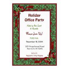 make it festive invitations