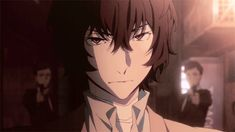 I love seeing this side of Dazai  Bungou stray Dogs Dead Apple trailer clip