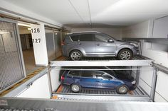 TRENDVARIO 4100 - Designer Semi automatic parking systems from KLAUS Multiparking ✓ all information ✓ high-resolution images ✓ CADs ✓ catalogues. Patio, Car Parking, My House, Furniture Design, Architecture, Interior Design, Home, Terrace, Garages