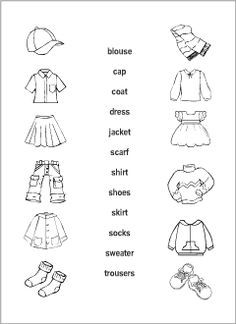 Printable read-and-match worksheets for kids to learn, practise and revise English vocabulary. Sorted alphabetically by topic, with wordlists. Resources for ESL teachers. Learning English For Kids, English Worksheets For Kids, English Lessons For Kids, Kids English, 1st Grade Worksheets, Teaching English, Ingles Kids, Test For Kids, Spanish Teaching Resources