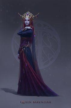 Queen Barenziah by inSOLense on DeviantArt
