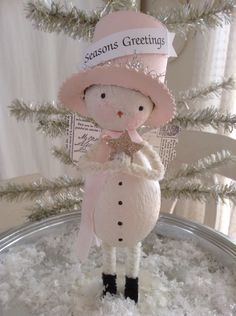 Snowgirl angel