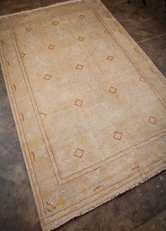 Named for the capital city of Turkey, birth country of the modern Oushak construction style. A contrast in construction, design, and color to other traditional hand-knotted rug types, Oushak rugs have a silky sheen, short pile and a rustic antiqued appearance indicative of the nomadic tradition of 15th-Century weavers. Jewel tones prevail in Ankar, with splashes of vivid color bringing each design to life. Constructed by master artisans steeped in tradition, each handcrafted rug is a…