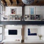 Confira esse loft super moderno comespaços amplos e bem abertos,em São Francisco! Projeto doescritórioEdmonds & Lee.