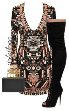 """Untitled #4073"" by stylistbyair ❤ liked on Polyvore featuring Alexander McQueen"