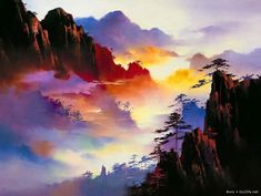 by Hong Leung.  Artists whose work I love and inspire me.  See paintings from Mark Phi Creations at http://markphicreations.com