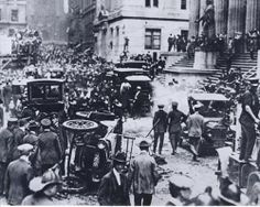 Back in 1920, nine years before the official start of the Great Depression, anarchists set off a car bomb on Wall Street that killed 39 people, the largest domestic terror attack in the U.S. until the Oklahoma City bombing 75 years later.