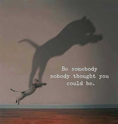 Be somebody nobody thought you could be - Motivation - Mindset quotes quotes deep quotes funny quotes inspirational quotes positive Life Quotes To Live By Inspirational, Positive Vibes Quotes, New Quotes, Wisdom Quotes, True Quotes, Words Quotes, Short Quotes, Positive Life, Famous Quotes